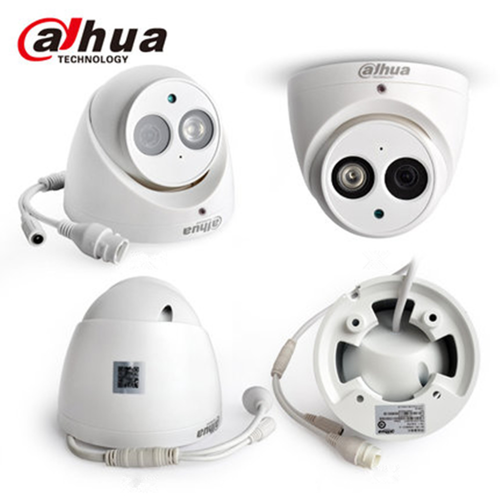 Dahua IPC-HDW4631C-A metal shell 6MP Built-in MIC POE IR 50m IP67 IK10 ip camera replace IPC-HDW4431C-A CCTV camera