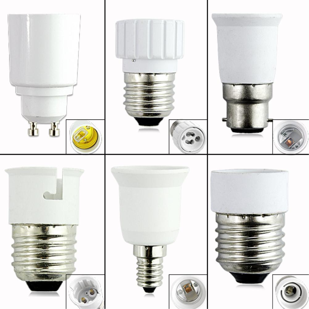 TSLEEN Promotion! 1PC Anti-Burning Material 27 Lamp Holder E27 To E14 LED Light Bulb Adapter Converter Lamp Holder