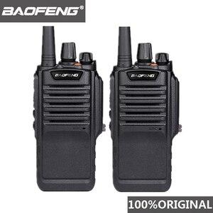 Image 1 - 2 pces baofeng BF 9700 alta potência walkie talkie à prova dbágua bf 9700 de longa distância woki toki rádio profissional uhf comunicador 10 km