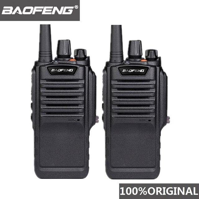 2 pces baofeng BF 9700 alta potência walkie talkie à prova dbágua bf 9700 de longa distância woki toki rádio profissional uhf comunicador 10 km