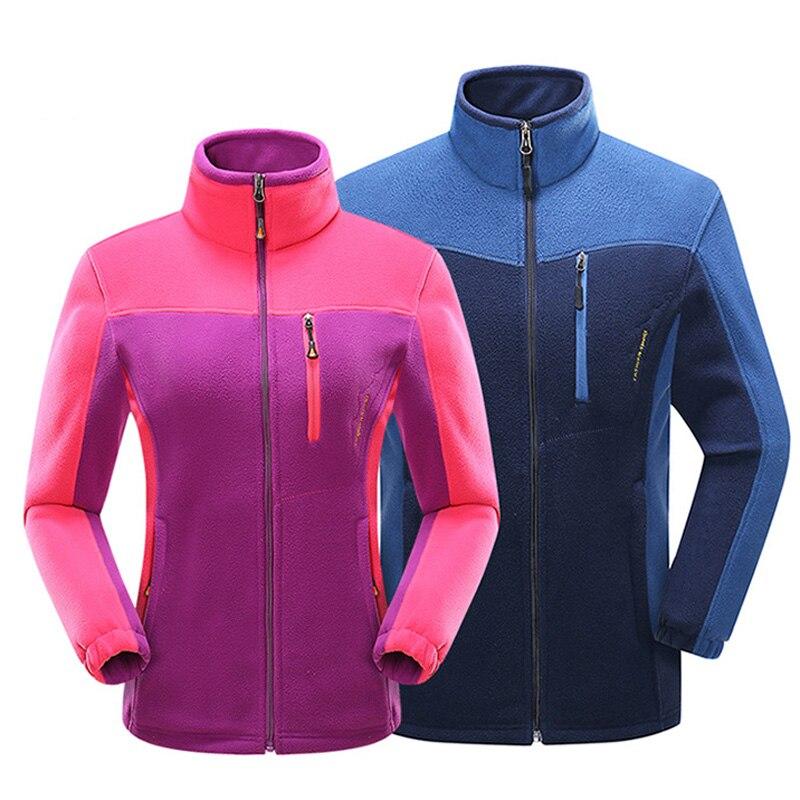 Men Women Winter Softshell Fleece Jackets Outdoor Sport Thermal Brand Coats Hiking Skiing Trekking Male Female Jacket VA060