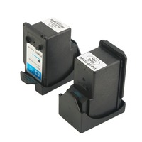 2 Pcs Black Tri Color Ink Cartridge For Canon PG240 And 241XL Black Tri Color Printer