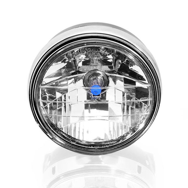 7 Inch Cafe Racer Cruiser Bobber Chrome Motorcycle Headlight For Honda CB CB400 CB750 CB1300 CB1000