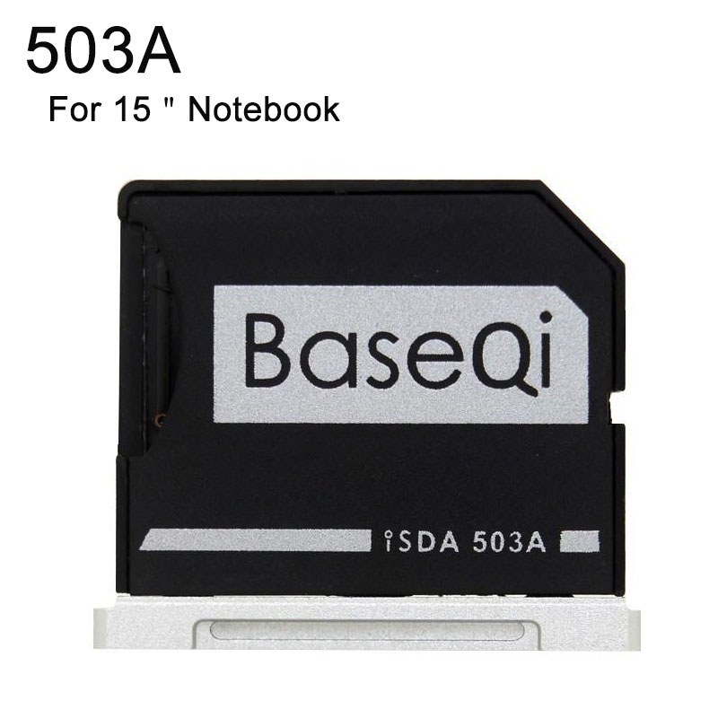 New Minidrive Aluminum Memory Card Adapter Notebook TF MicroSD Metal Reader For Macbook Pro Retina 15'' (Mid 2012/Early 2013)