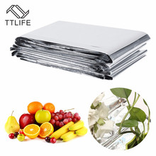 TTLIFE Silver Plant Hydroponic Highly Reflective Mylar Film Grow Light Accessories Greenhouse Reflectance Coating Covers