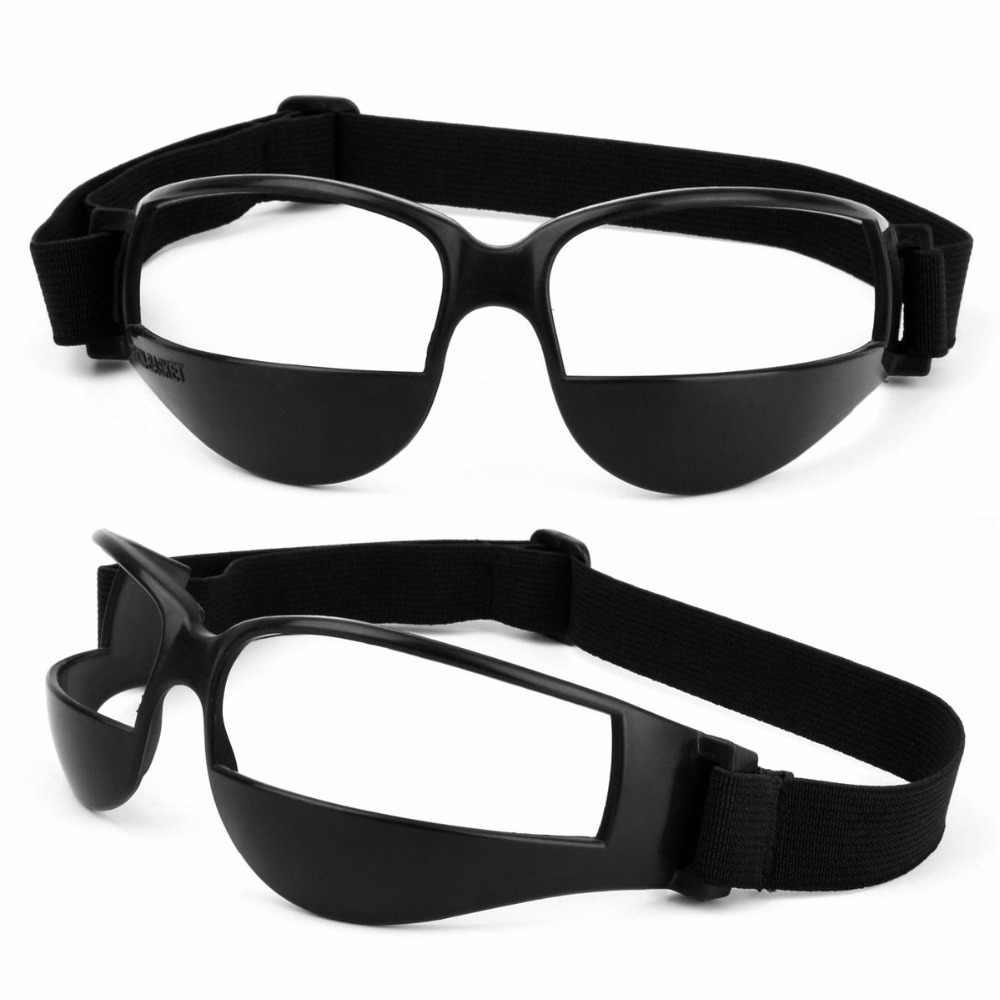 Criança do sexo masculino Para Baixo Desporto Óculos de Proteção Eyewear Quadro Profissional jogo de Basquete bola Fontes do Treinamento de basquete cesta homme