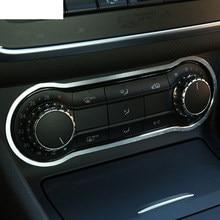 Garniture de panneau de climatisation en alliage d'aluminium, accessoire de voiture, pour Mercedes Benz GLA CLA 200 220 A180 B200