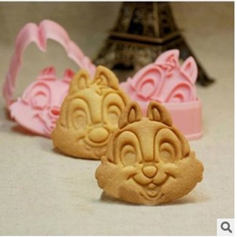 Cookie Cutters Moulds Cute Animal Candy Shape Biscuit Mold DIY Fondant Pastry Decorating Baking Kitchen Tools