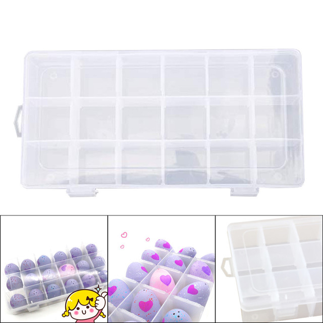Best organizer Storage Organizer Carrying Box 18 Grids Case Holder