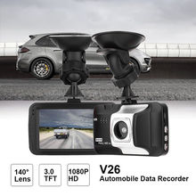 Auto 3 Inch Dash Cam Car DVR Car Dashboard DVR Camera Video Recorder G-Sensor Vehicle Dash Cam with HDMI 1080P HD Interface цена