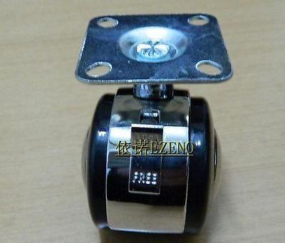 "4x1,9"" карабин из цинкового сплава пластинчатые ролики подшипник колеса с тормозом"