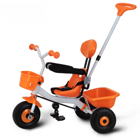 2 em 1 criancas bebe triciclo carrinho de bicicleta para criancas triciclo de tres rodas