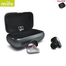 Mifo O5 Bluetooth 5.0 True HIFI Wireless Earphones IPX7 Waterproof Sports Binaural Mini Earbuds In-Ear with Charging box