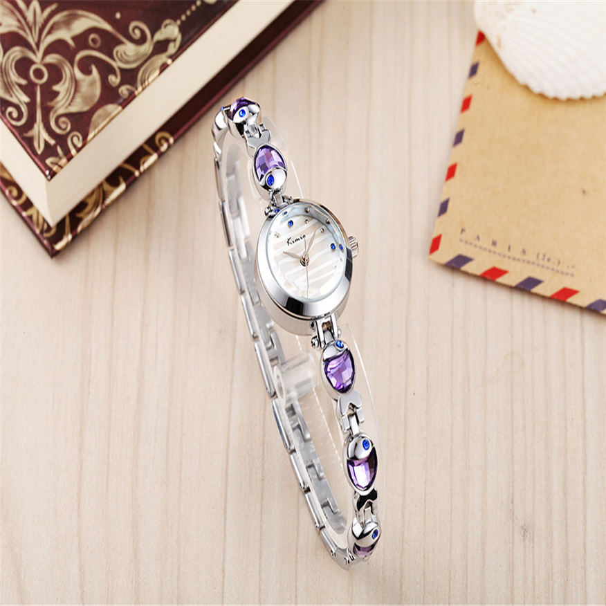 KIMIO Fashion Bracelet Strap Women Dress Stainless Steel Bracelet Quartz Watches Relogio Feminino TOP BRAND kimio k482s