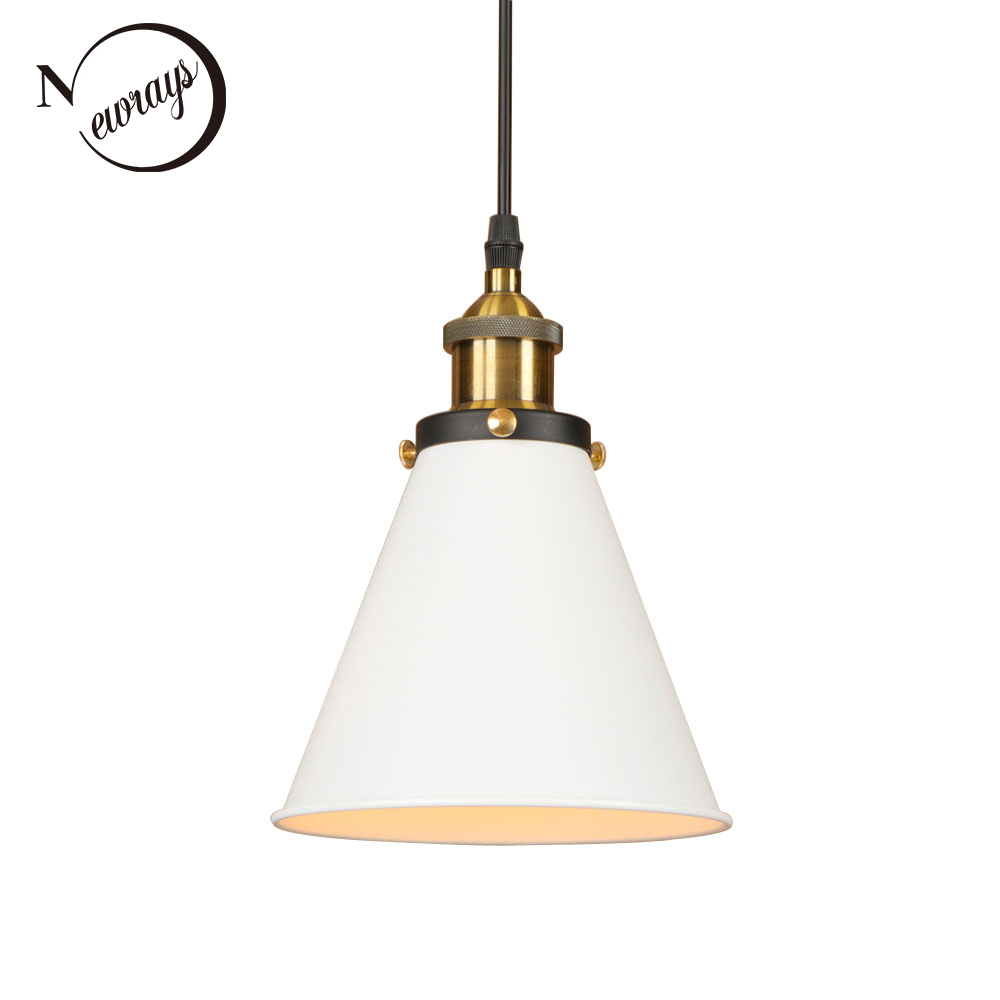 Loft industrial iron modern pendant lamp adjust cord E27 LED 110V 220V hang retro pendant lights for kitchen living room bedroom new arrival vintage pendant lamp modern retro industrial pendant lights for restaurant bar living room bedroom 220v e27 holder