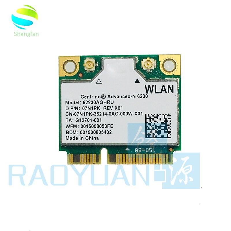 Dual Band 6230AN 62230ANHMW SPS:636672-001 Half Mini PCI-e WLAN Wireless Wifi Card For HP 4230S 4330S 4530S 4730S ENVY14 15 17