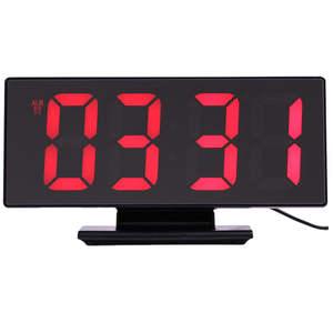 Alarm-Clock Digital Bedroom-Decoration Snooze-Display Night-Table Time Desktop Multifunction