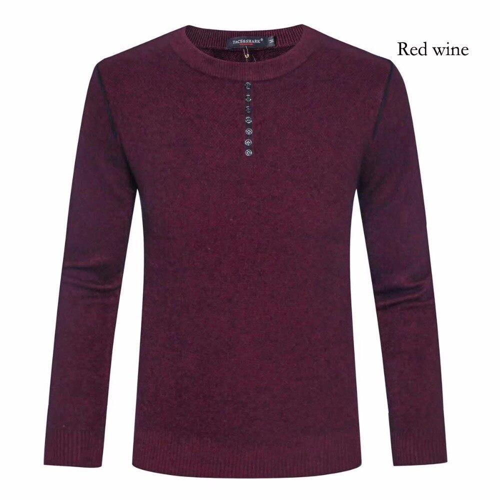 sweaters men Tace&shark brand 2017 men sweaters winter long Round neck England man winter Sweater Billionaire wool