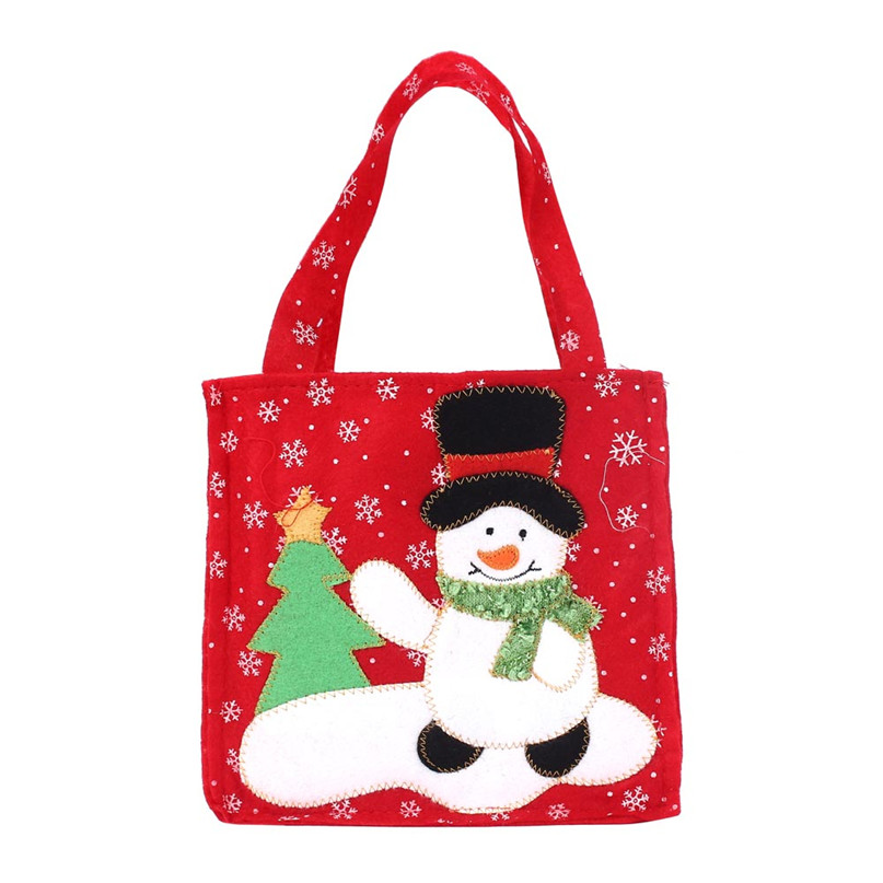 Home Supplies Hot Selling Good Quality New Santa Claus Gift Bags Merry Christmas Candy Bags Storage Bag drop shipping 70629