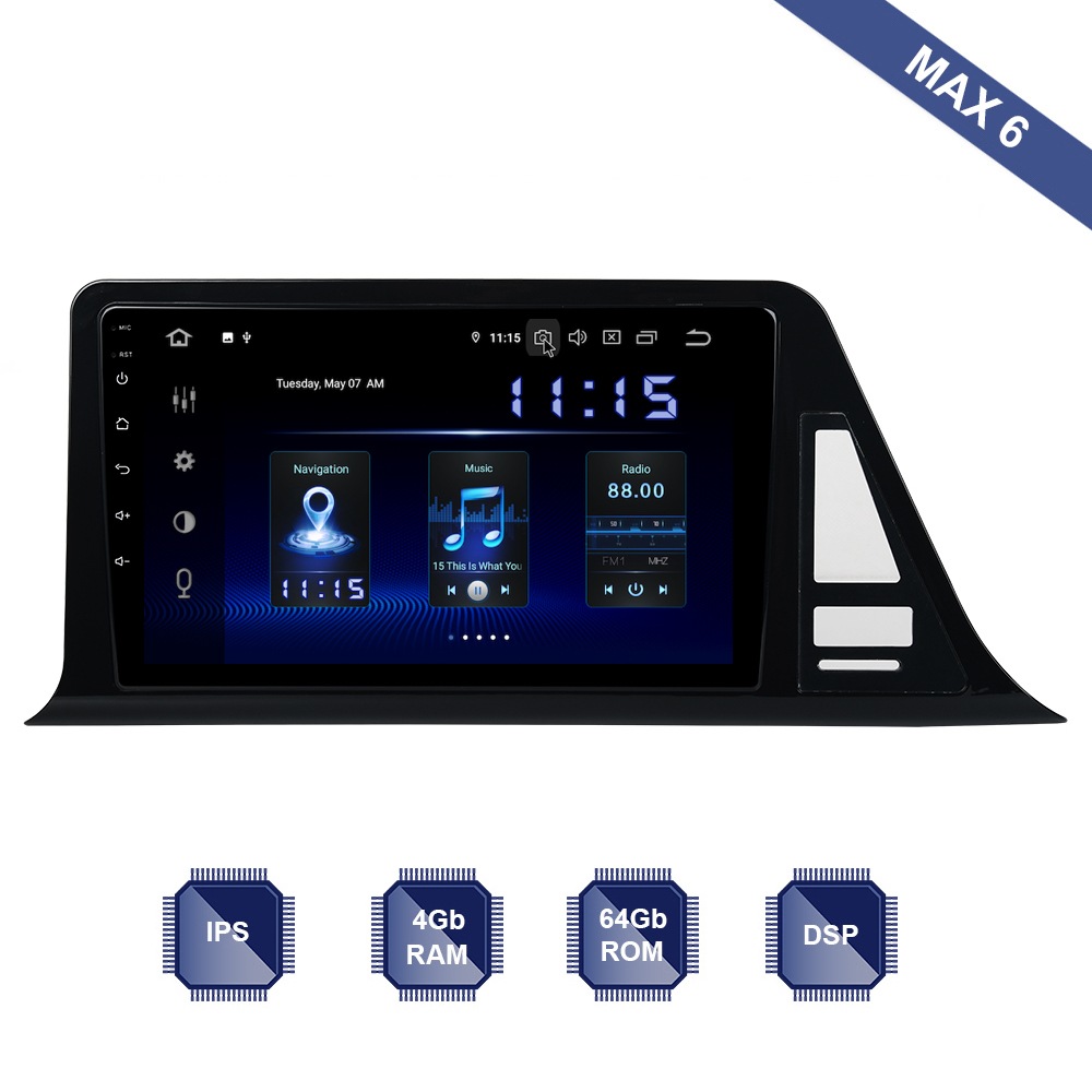 Android 9 0 Car Radio 2 Din GPS Navi for Toyota CHR 2016 2017 2018 2019
