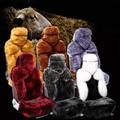 5 Colors 5 Seats Sedan Car Cushion Super Warm Wool Car Seat Winter New Plush Car Pad Seat Covers 2015 Hot Sale Adventure Time