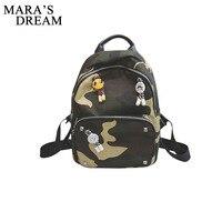 Mara S Dream Women Backpack Waterproof Canvas Lady Women S Backpack Female Casual Travel Bag Bags