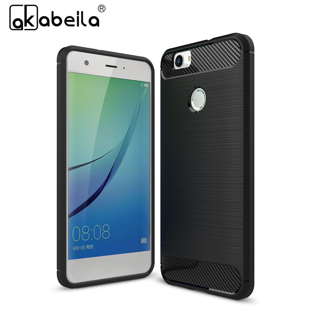 AKABEILA Mobile Phone Case For Huawei Nova CAN-L12 CAN-L11 Soft TPU CAN-L01 CAN-L02 CAN-L03 CAN-L13 Luxury Case Back Covers