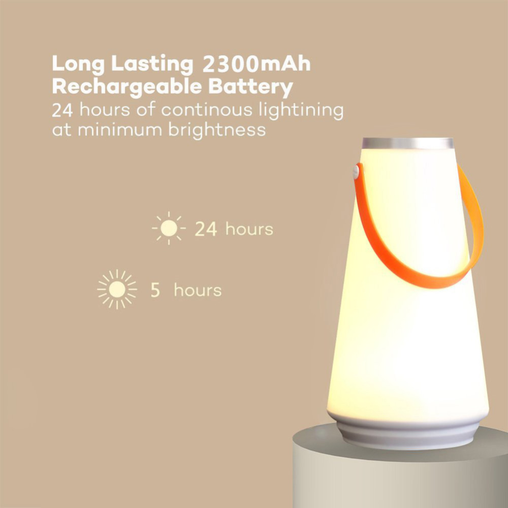 Jiaderui Outdoor Camping Night Light Creative Lovely Portable Table Lamp USB Rechargeable Touch Switch Camping Emergency Lamp