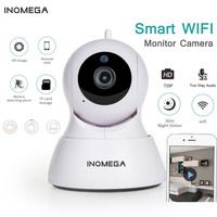 INQMEGA 720P Pan Tilt Security IP Camera WiFi Home Security CCTV Camera With Night Vision Two