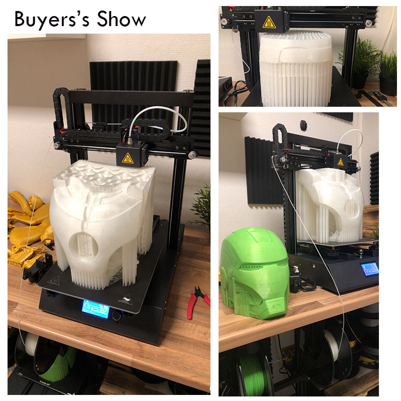 2019 High precision 3D printer Ortur 4 Large Size Marlin 2 0 Open Source Mainboard Power Off Resume Easy Biuld Linear Guide Rail in 3D Printers from Computer Office
