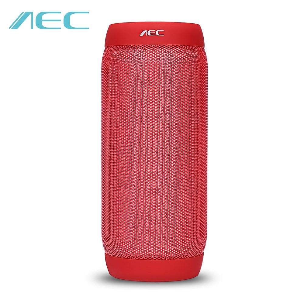 AEC BQ-615S HIFI Stereo Portable Mini Waterproof Wireless Bluetooth Speaker Colorful LED Lights Sound Box NFC Microphone FM