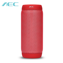 AEC BQ-615S HIFI Stereo Portable Mini Waterproof Wireless Bluetooth Speaker Colorful LED Lights Sound Box NFC Microphone FM