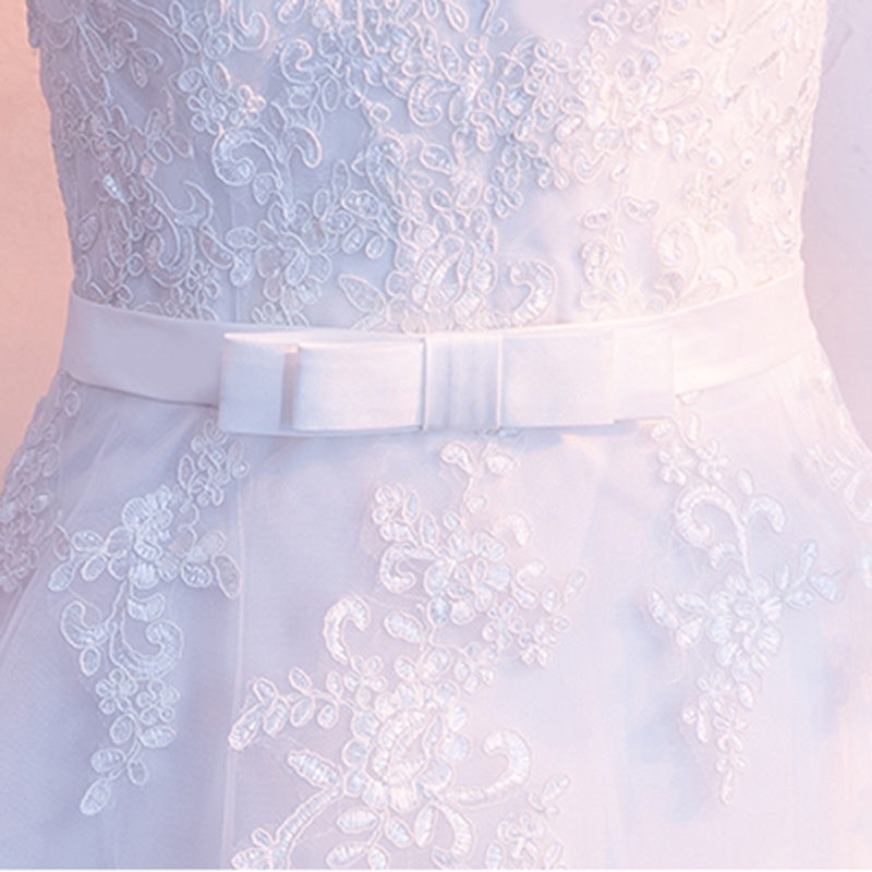 Image 4 - DongCMY Prom Dresses Long White Color Lace Flower Women Married  Party Dress Gownprom dressesprom dress fashionprom fashion dresses -