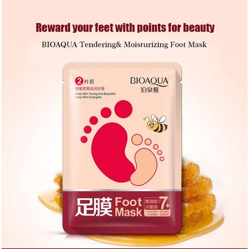 1 Bag Exfoliating Foot/Feet Mask Foot Care Pedicure Socks Feet Peeling Feet Mask Foot Care Socks for Pedicure Baby Feet bioaqua exfoliante para pies