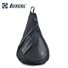 LUXCEL NEW Cross body sacs D'épaule Simple sac sling sac hommes seule sangle Corde Triangle Pack Sac À Dos