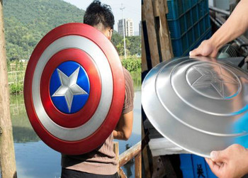 Металлические щит Капитана Америки 1:1 1