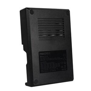 Image 2 - Miboxer C4 12 Pin Thông Minh 18650 26650 Sạc 4 Khe Cắm Màn Hình LCD 3.0A/Khe cắm tổng 12A cho Li Ion/ IMR/INR/ICR/Ni PK liitokala500