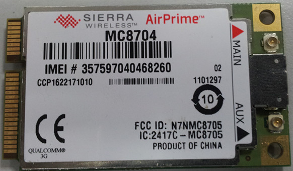 MC8704/MC8705  Sierra Wireless AirPrime GPS GPRS GNSS Embedded WCDMA 3G HSPA Module 100% New Original in stock