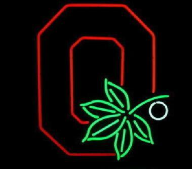 Ohio State Buckeyes Neon Light Sign Beer Bar