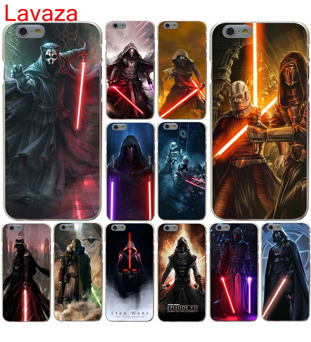 Lavaza Star Wars new lightsaber Hard Case for iphone 4 4s 5c 5s 5 SE 6 6s 6/7/8 plus X for iphone 7 case