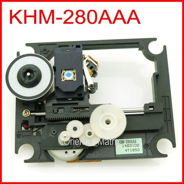 Frete Grátis Original KHM-280AAA KHM280AAA Optical Pick-Up Mecanismo DV-S155XE DV-SP1000 CD Laser Lens Unidade Óptica Pick-up