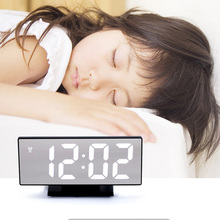 LED alarm clock USB Cable Home decoration table electronic home accessories decor room