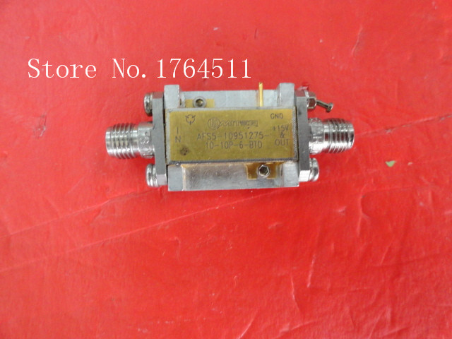 [BELLA] MITEQ AFS5-10951275-10-10P-6-BTO 15V SMA Supply Amplifier