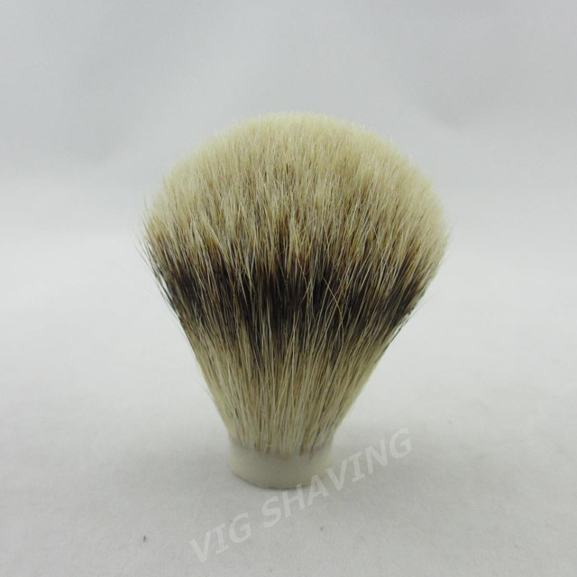 20pcs/lot SilverTip Badger hair Shaving Brush Knots 22/65mm