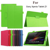 Pu Leather Stand Holder Tablet Case Cover For Sony Xperia Tablet Z Z1 10 1 Magnetic