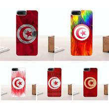Soft Silicone TPU Transparent Protective Cover Case For Samsung Galaxy A3 A5 A7 J1 J2 J3 J5 J7 2015 2016 2017 Tunisia Flag Map(China)