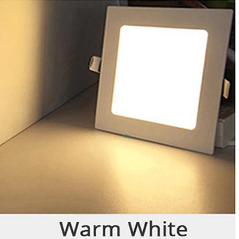 25W สแควร์ห้องครัวห้องครัวโคมไฟเพดาน AC85-265V LED Downlight WARM White/Cool White ฟรีการจัดส่ง