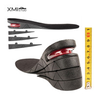 9cm Shoe Insole 4 Layer Air Cushion Heel Insert Increase Taller Height Lift Let Winter Boots