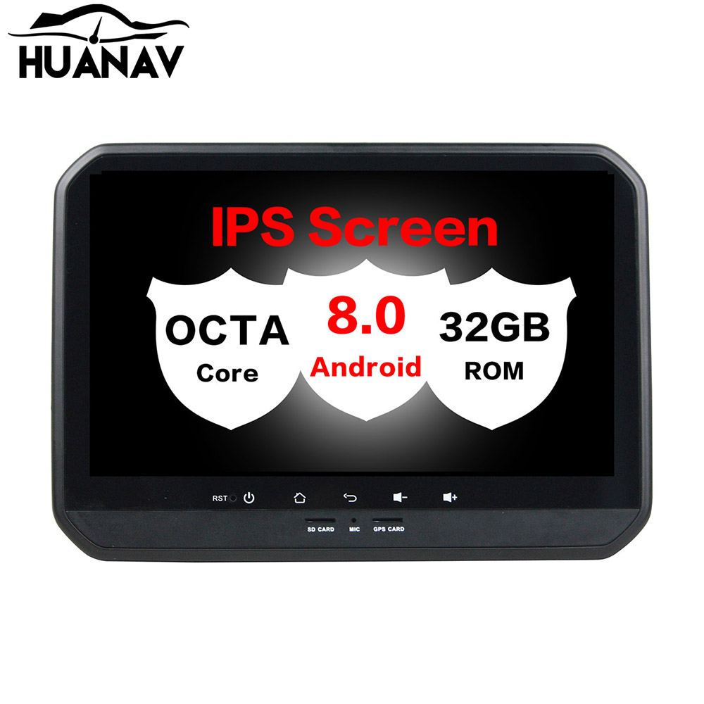 HUANVA Android 8.0 32G Car CD DVD Player GPS navigation For Suzuki IGNIS 2017 multimedia player tape recorder 8-Core navi Audio