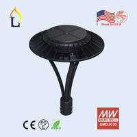 5pcs/lot garden lamp led 150W led Area light with sensors for replacement CE ROHS/ETL listed 100 277VAC LED Circular Area Lights
